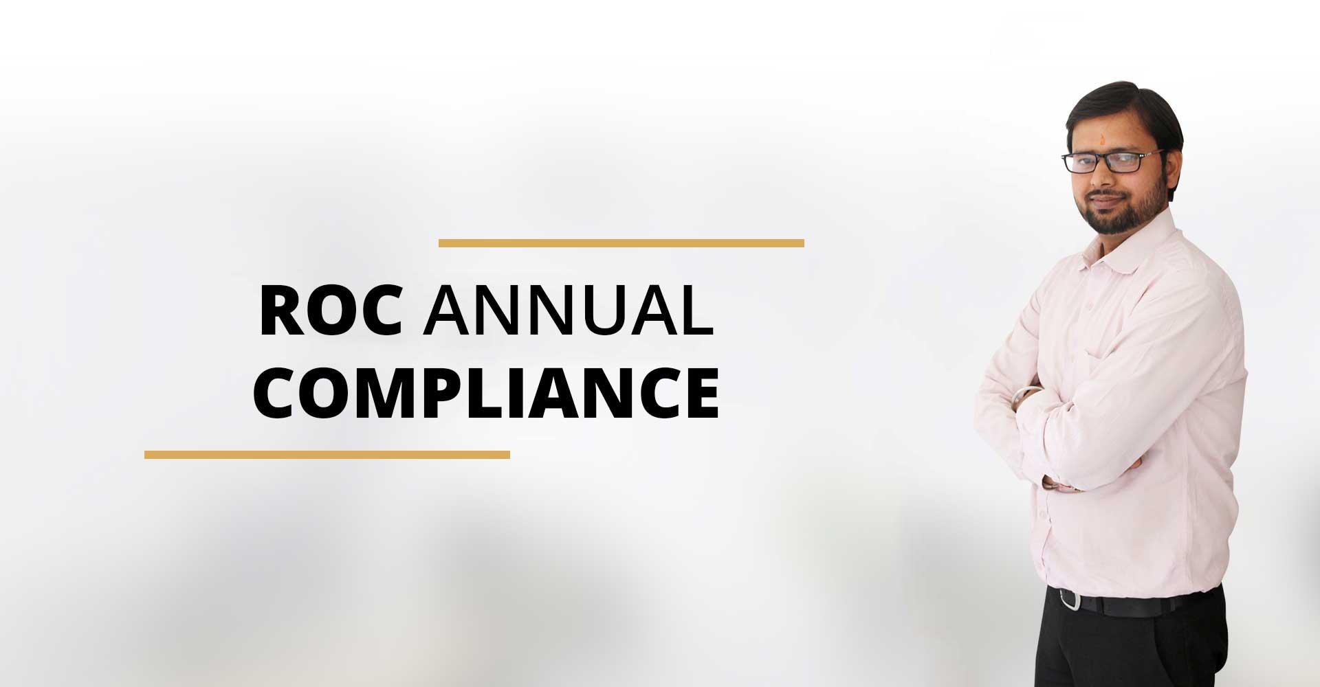 Annual ROC Compliance