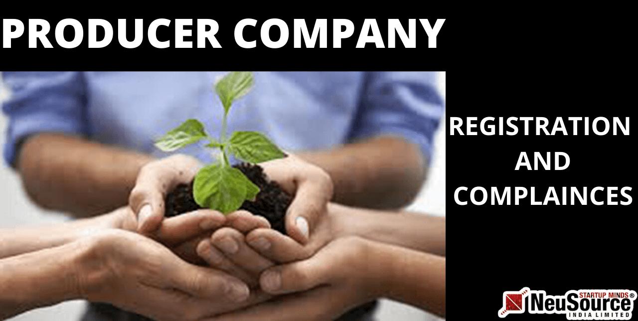 Producer Company Formation