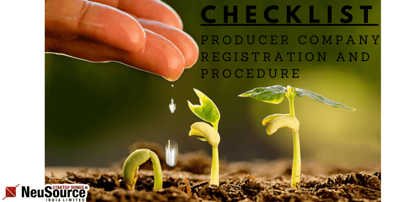 Producer Company Registration and Checklist