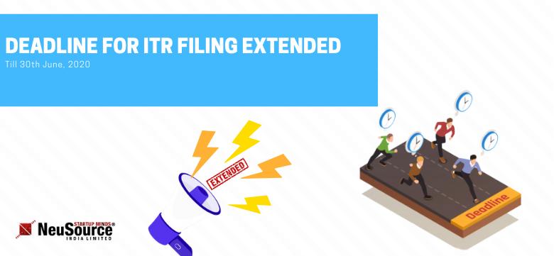 ITR Date Extended