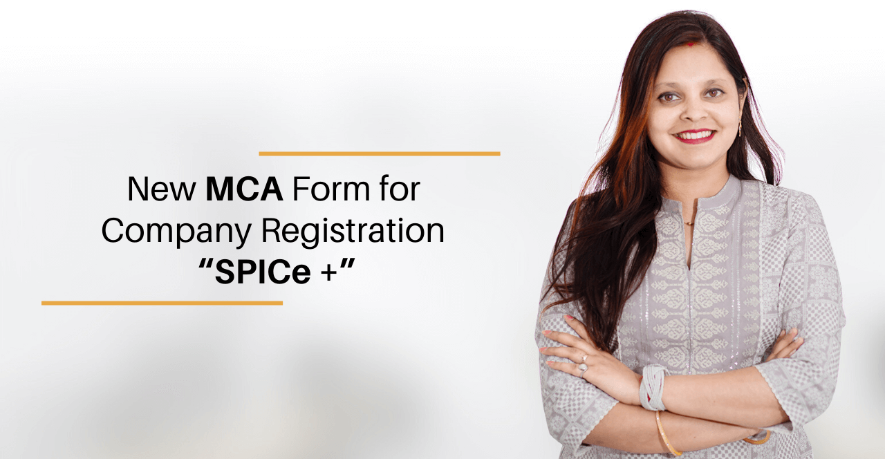 Spice Form for Company Registration