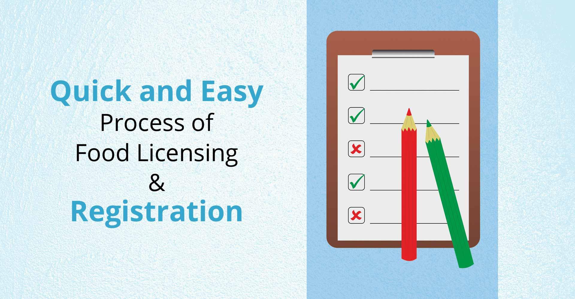 Food License Registration Online