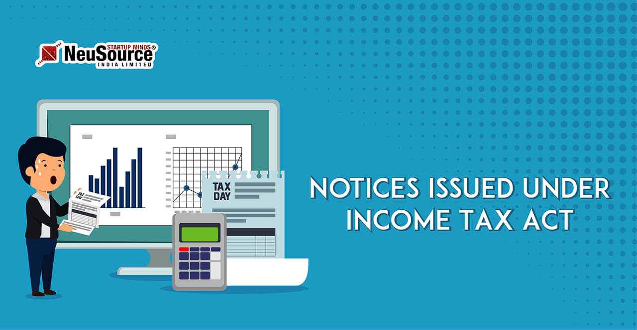 Issued Under Section 142(1) Tax Notice